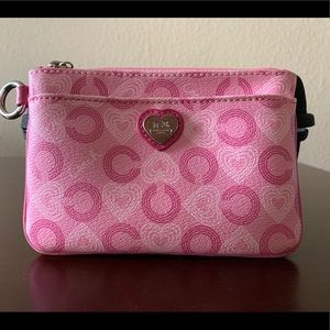 Coach💗Pink Coin Pouch